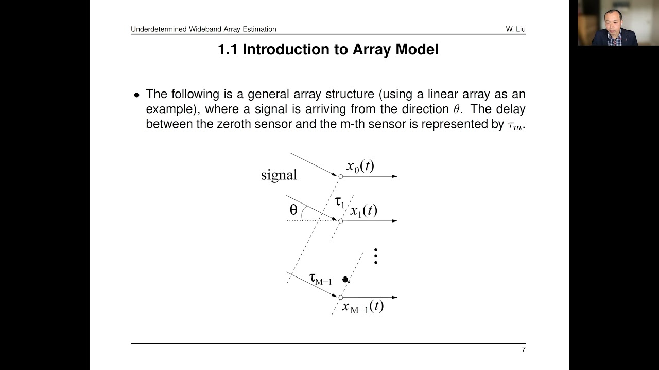 Download Tutorial: Underdetermined Wideband Direction of Arrival Estimation and Target Localization, Part I