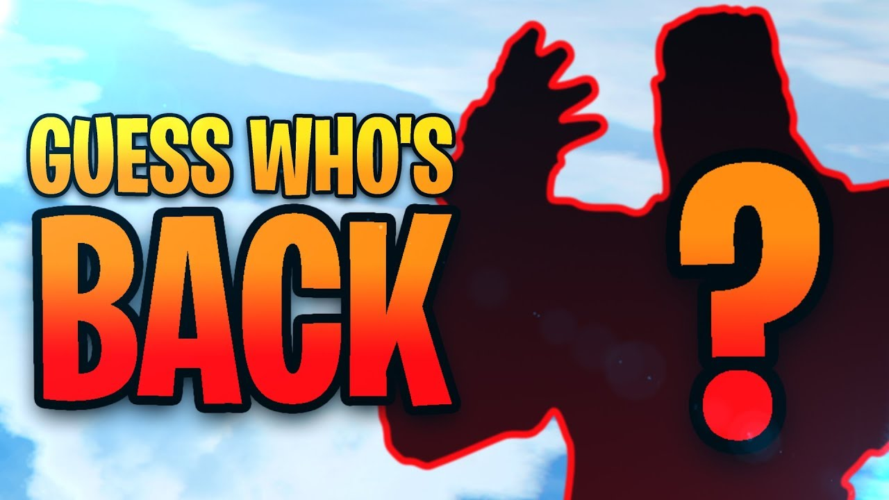GUESS WHO'S BACK! Fortnite Funny Moments
