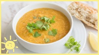 Eat | Freezer-friendly Red Lentil Soup (collab W/ Entertaining With Beth!)