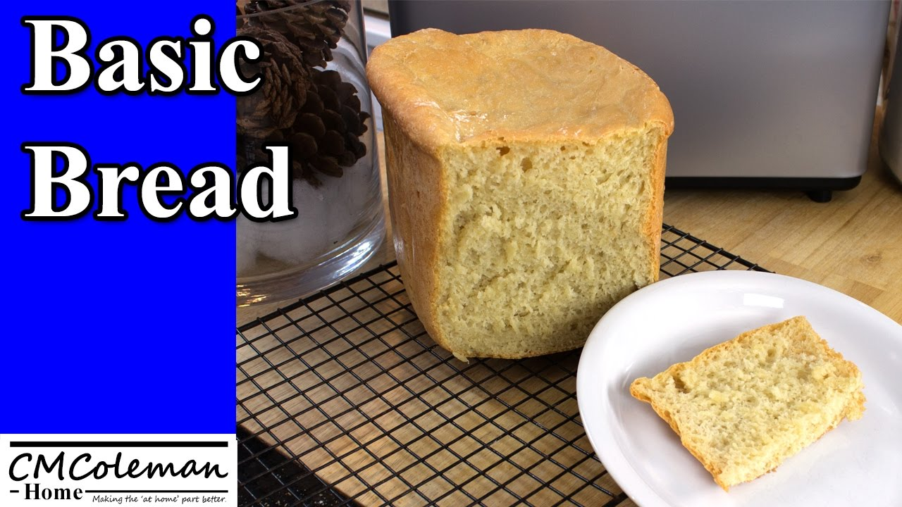 Basic Breadmaker Bread Recipe