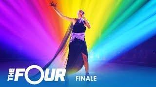 Download lagu Leah Jenea A Unique SOULFUL Singer Slays True Colors Finale The Four