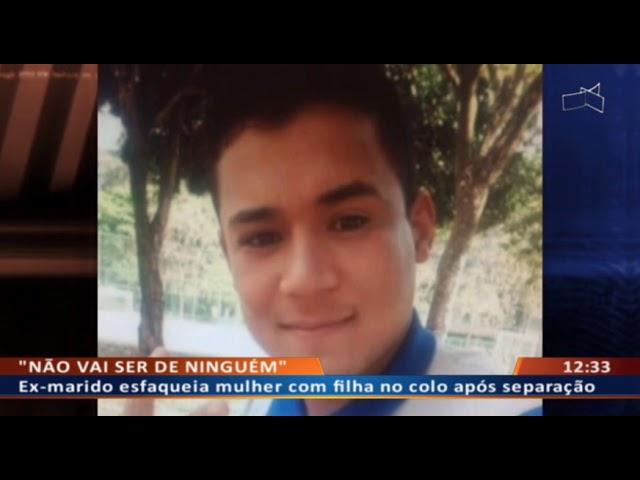 DF ALERTA - Ex-marido esfaqueia mulher com filha no colo após separação