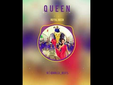 Queen BGM | Queen Malayalam Movie BGM | Royal Mech BGM