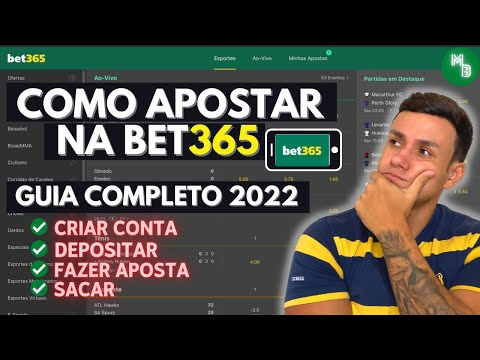 COMO APOSTAR NA BET365 PELO CELULAR E PC - 2021