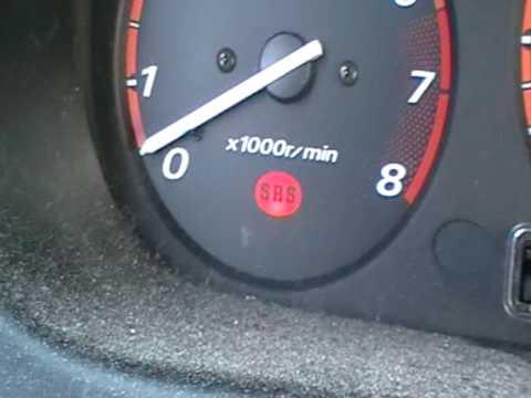 99 crv check engine light blinking