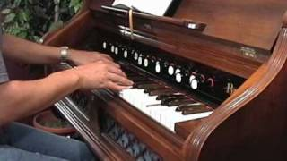 Amazing Grace - Hymn, New Britain tune - Berlin Reed Organ