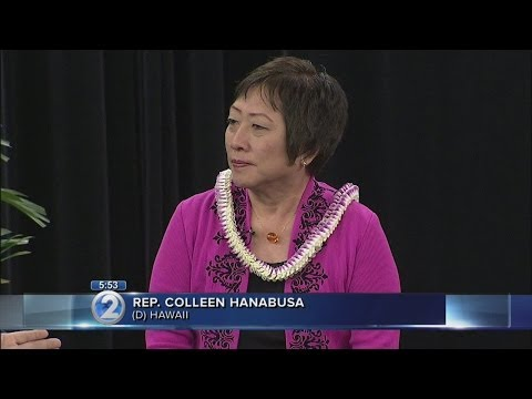 Rep. Colleen Hanabusa on Wake Up 2Day (Part 1)