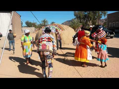 Namibian Nama Dancers