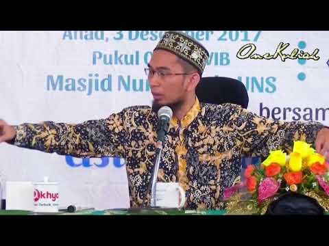 20171203-Adi Hidayat-Interaksi Zaman | Seharusnya Kita Mewarnai Zaman Bkn Diwarnai Oleh Zaman