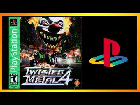 Twisted Metal 4 - покатушки-пострелушки из 90-х