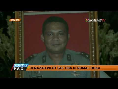 Pilot Korban Kecelakaan di Papua Tiba di Jakarta