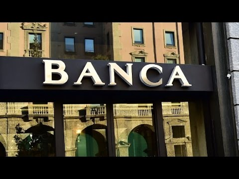 Italian banks are drowning in bad debt