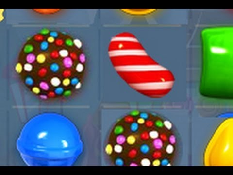 Candy crush Saga - DOUBLE COLOR BOMB & STRIPE CANDY COMBOS!!