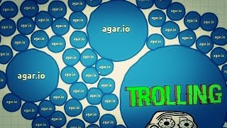 KING AGAR.IO - TROLLING JUMBO + DOMINANDO PARTY