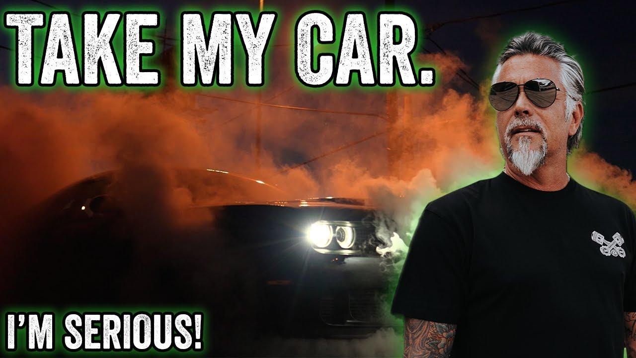 YOU can take my car HOME - Gas Monkey Garage & Richard Rawlings