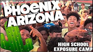 Camp was Lit🔥🔥 UTR Exposure Camp | High School | Phoenix AZ, | Ballers Everywhere !!