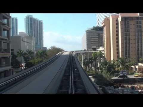Miami Metromover - Downtown Loop Timelapse (edit)