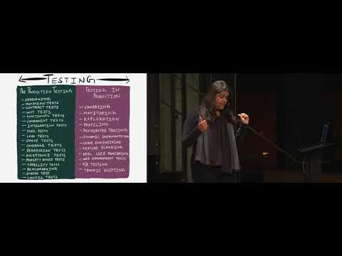 Cindy Sridharan: Testing Microservices: A Sane Approach PreProduction & In Production
