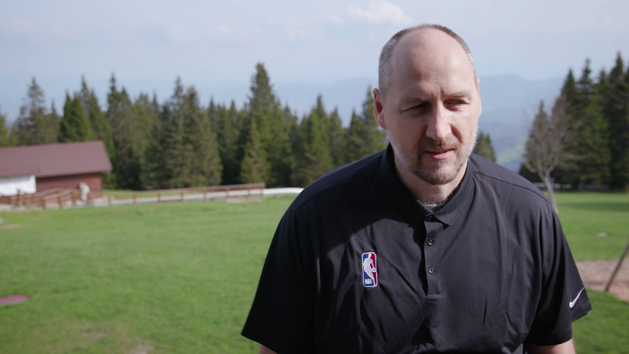Dino Radja Reacts To Being Accepted Into Hall of Fame
