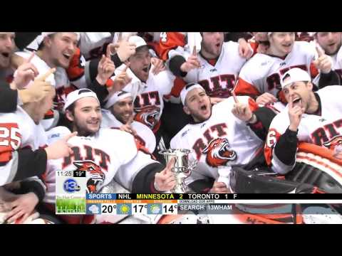RIT on TV: Tigers Prep for NCAA competition - WHAM