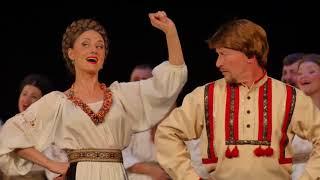 �������� ���� Государственный Академический Сибирский русский народный хор В узенький проулочек ������