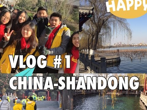 #VLOG1 : WINTERCAMP JINAN-QUFU-YANTAI, SHANDONG