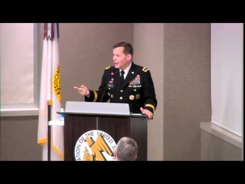 ILW Breakfast 4-21-2016 - Lt. Gen. Jeffrey Talley, Chief Arm