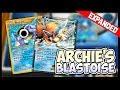 Archie's Blastoise - Pokemon TCG Online Gameplay