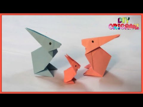How To Make An Origami Paper Rabbit - DIY Paper Rabbit