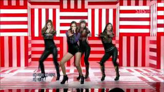 Sistar - Over + How Dare You (??? - Over + ????) @ SBS Inkigayo ???? 101205 MP3