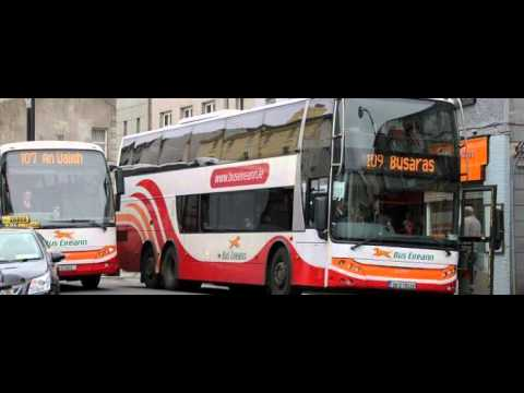 Accessibility for disabled on Bus Eireann's double-deckers