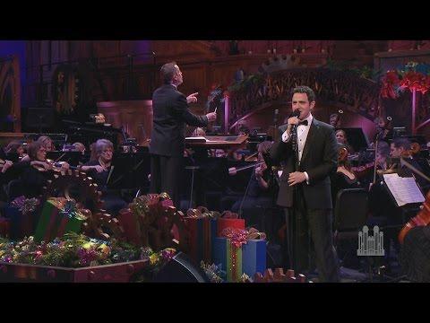 The Wonder of Winter Christmas Medley  Santino Fontana and the Mormon Tabernacle Choir