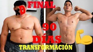 TRANSFORMACIÓN FISICA en 90 días SEMANA 12 FINAL | Giobani Ortega