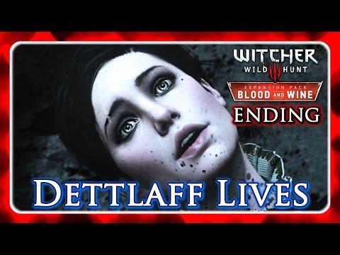 Witcher 3 🌟 BLOOD AND WINE ► No Ribbon Ending - Dettlaff Lives, Regis Stays, Yennefer Romance