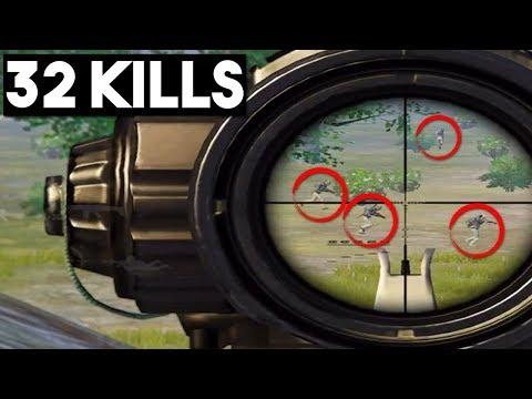 PERFECT SNEAK ATTACK ON FULL SQUAD! | 32 KILLS Duo vs Squad | PUBG Mobile