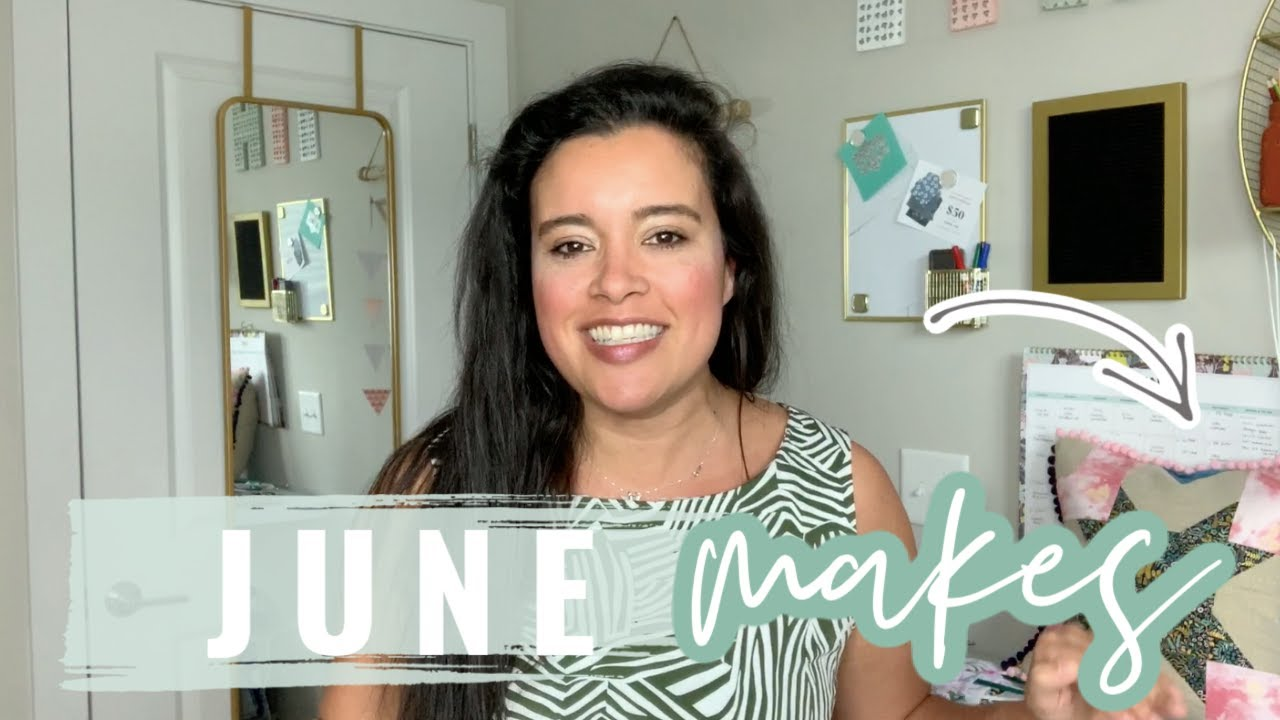 June 2020 Makes  |  Everything I Sewed in June