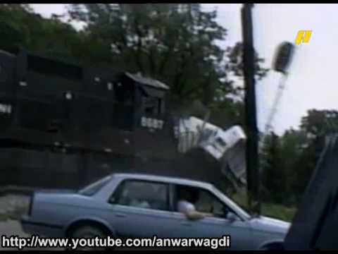 Train Crash With Truck