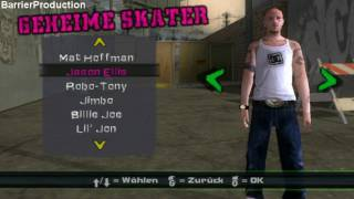 All Characters in Tony Hawks American Wasteland HD 1080p