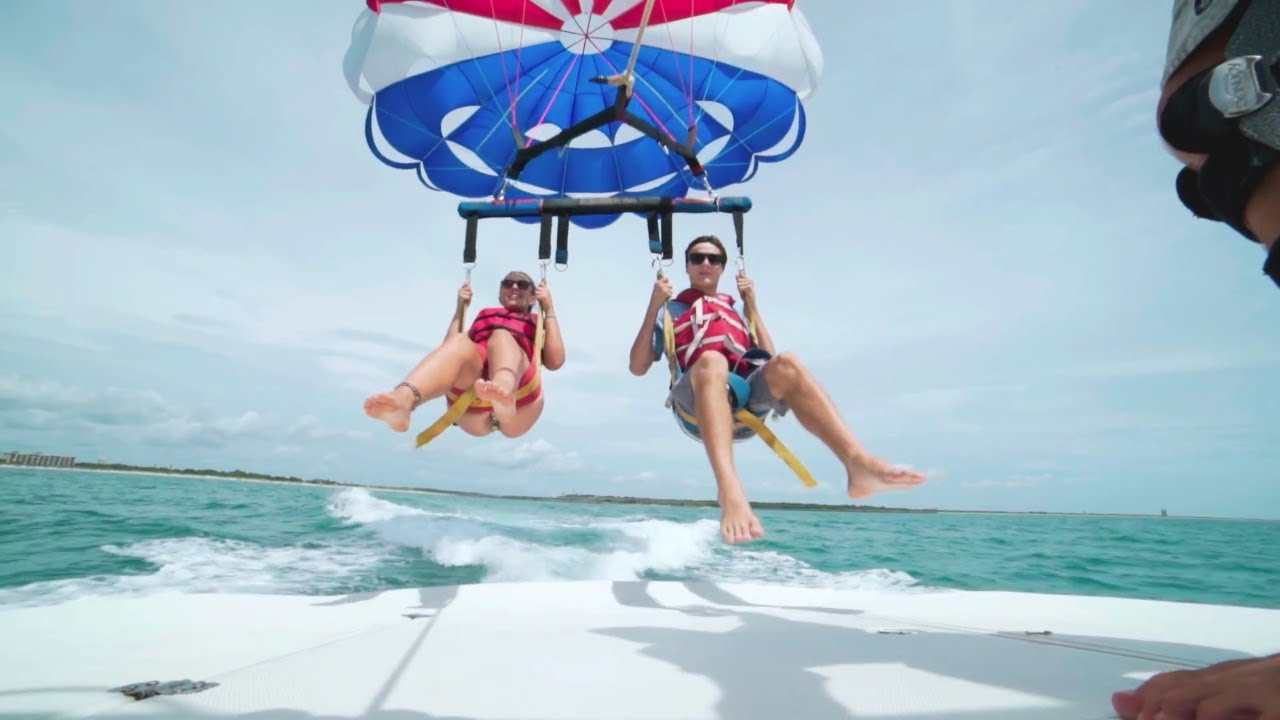 Parasailing Cocoa Beach On Florida S E Coast