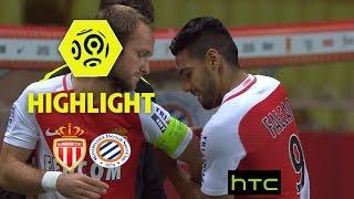 AS Monaco - Montpellier Hérault SC (6-2) - Highlights - (ASM - MHSC) / 2016-17