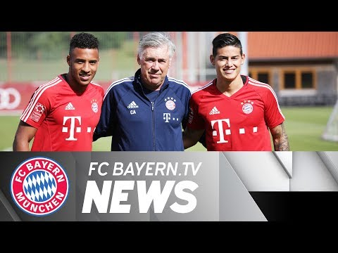 Superstar James begins training with Bayern