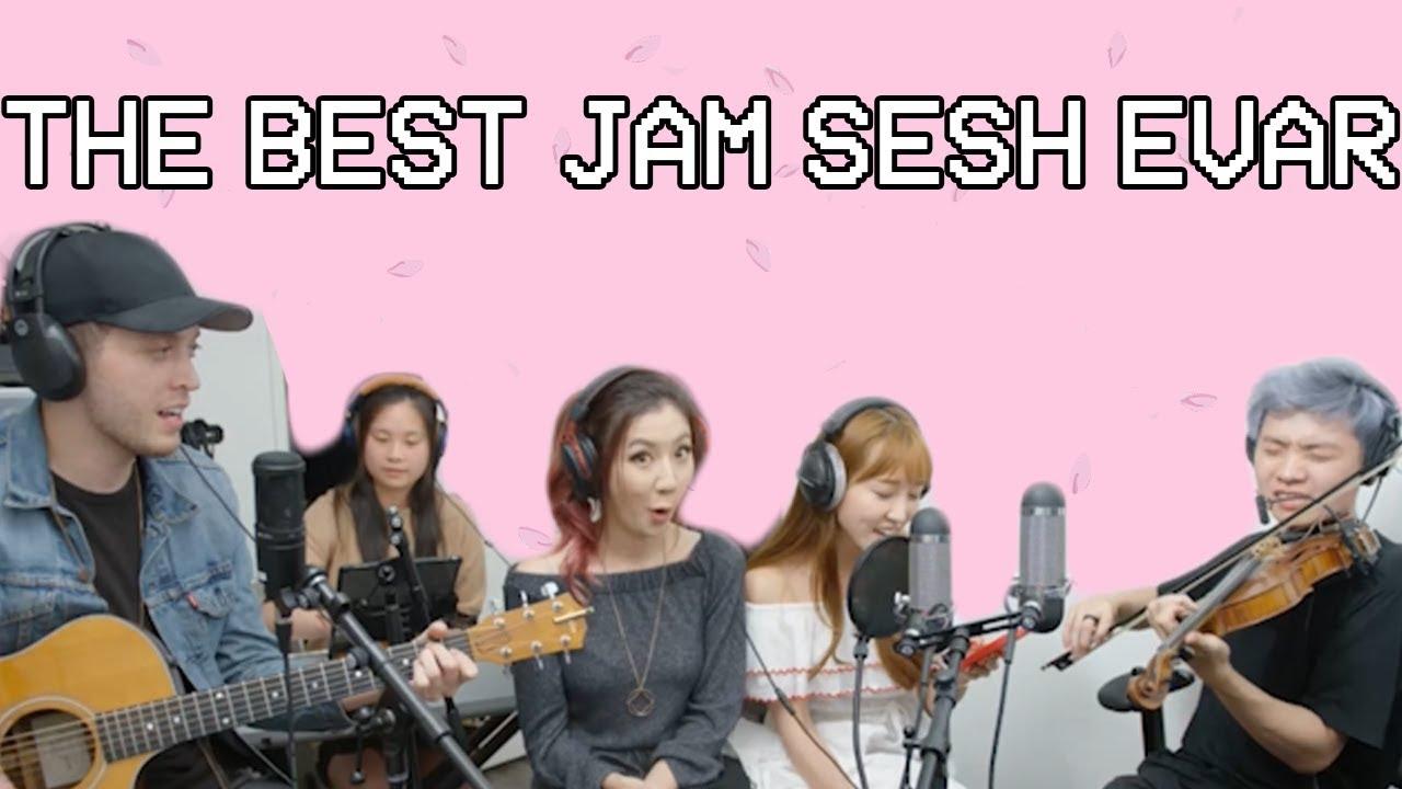 The Best Jam Sesh EVAR ft. Albert, Fuslie, TJ, Coco, and Tiff