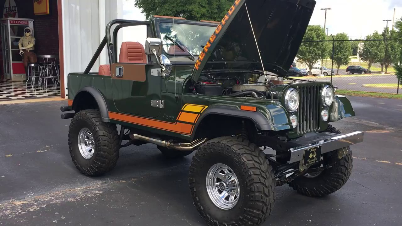 1983 jeep cj7 renegade [ 1280 x 720 Pixel ]