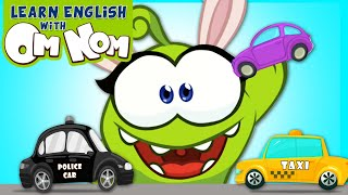 Learning Construction Vehicles With Om Nom | Educational Videos For Kids | Learn English With Om Nom