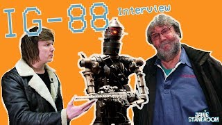 Making IG-88 & Alien brains with props master Bill Hargreaves
