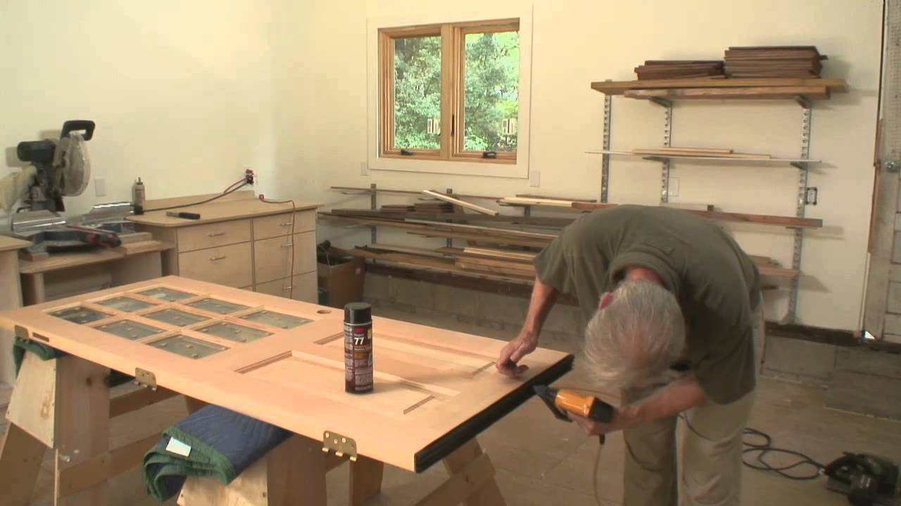 How To Cut a Prehung Exterior Door to a Custom Height - YouTube