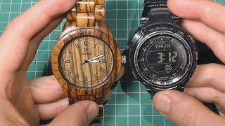 Деревянные наручные часы uwood. Обзор, разборка, сравнения.