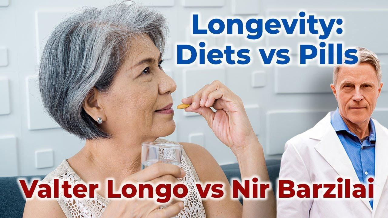 Longevity: Diets vs Pills: Metformin: Valter Longo vs Nir Barzilai