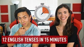 ENGLISH TENSES EXPLAINED IN 15 MINUTES
