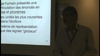 Conférence: «Histoire de l'écriture et sa signification cognitive»